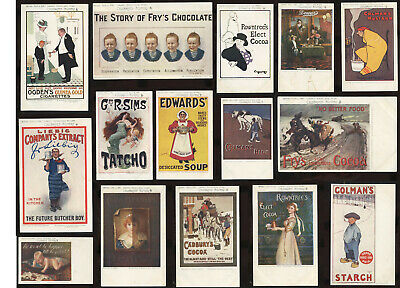 £30 • Buy Advertising Postcards.. Tucks Celebrated Posters.. Original Cards..priced Singly
