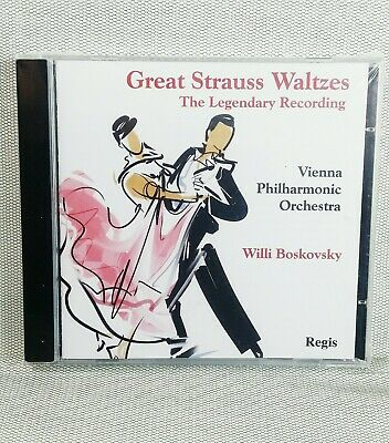 Great Strauss Waltzes The Legendary Recording CD New And Sealed • 7.96£