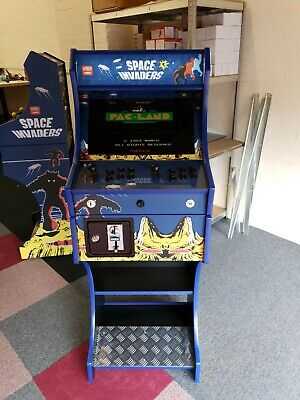 Space Invaders Arcade Machine  2 Player -3188 Games + Coin Mec +Free UK Delivery • 699£