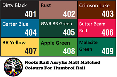 15ml Acrylic Model Paint Hornby Humbrol Rail Colours Matched : Roots Model Paint • 1.79£