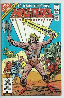 $24.99 • Buy **masters Of The Universe #1**(1982, Dc)**he-man**mini Series**vf**