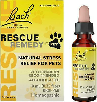 Bach Rescue Remedy Natural Stress Relief For Pets Liquid 0.35 Oz • 14.30£