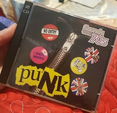 Various SEALED 2x CD Sounds Of The 70s : Punk - Time Life TL 469/30.  • 29.99£