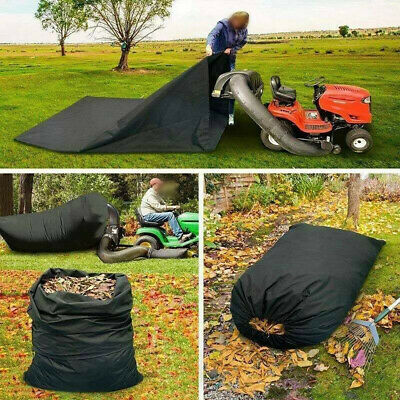 AU47.60 • Buy Lawn Tractor Leaf Bag Mower Catcher Riding Grass Sweeper Rubbish Bag Outdoor