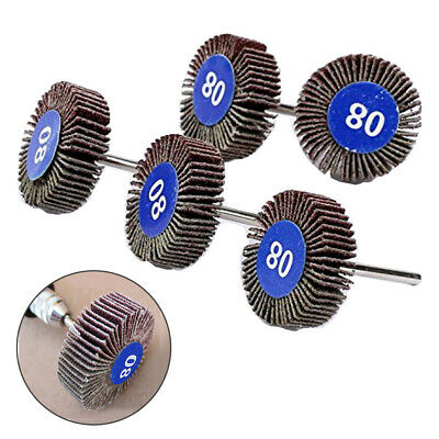 Grinding Sanding Sandpaper Flap Wheel Discs For Rotary Set Home Craft • 5.89£