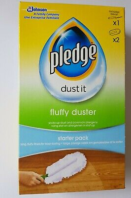 Pledge Fluffy Dusters Starters Pack *Same Day Dispatch* • 7.80£