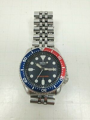 $ CDN327.95 • Buy SEIKO SKX009K2 Men's Diver Automatic Stainless Steel Watch Skx Pepsi