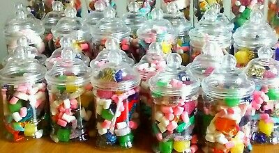 Victorian Style Gift Jars Pre Filled With Traditional Sweets Of Your Choice • 9.50£