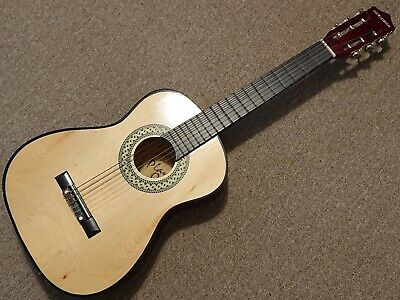 34 Inch Acoustic Guitar, Perfect For Children, 6 String Musical Instrument • 10£