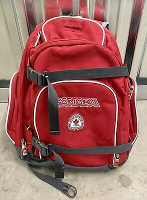 Canada Olympic Team 2008 Toronto Official Backpack By Hudson Bay Company • 36.99£