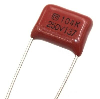 $5.99 • Buy 0.1uF ±10%, 250VDC Panasonic, Metallized Polyester Film Capacitor