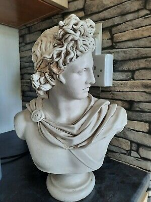 Apollo Sculpture Statue Ancient Greek God Of Sun And Poetry  • 15£
