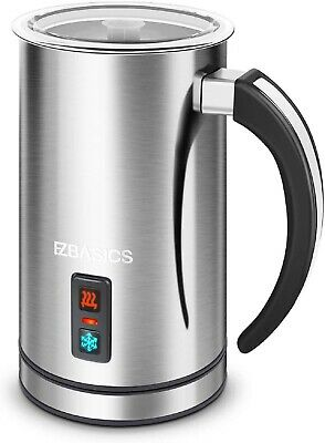 $45.99 • Buy Milk Frother, Electric Milk Steamer Stainless Steel, Automatic Hot And Cold