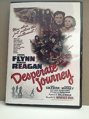 Desperate Journey Starring Errol Flynn • 3.99£