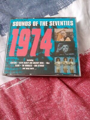 CD Sounds Of The Seventies 70's - 1974 • 6.99£