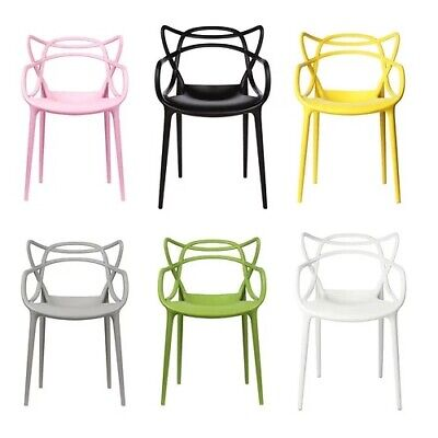 £249.99 • Buy Set Of 2/4/6 Masters Style Lounge Kitchen Dining Chair Retro Garden OutdoorPatio