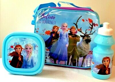£8.46 • Buy Kids Children Character Insulated Lunch Bag With Drink Bottle And Snack Box
