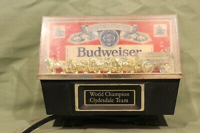 $ CDN52.83 • Buy Vintage Budweiser Champion Clydesdale Advertising Light, Counter Light