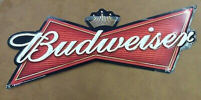 $ CDN20.48 • Buy Metal Budweiser Bowtie Sign 2007