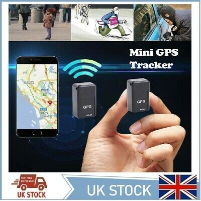 Magnetic Mini GPS Tracker Car Spy GSM GPRS Real Time Tracking Locator Device UK • 14.99£