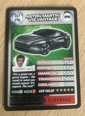 Top Gear Turbo Challenge SUPER RARE TRADING CARDS 241/276 • 7.99£