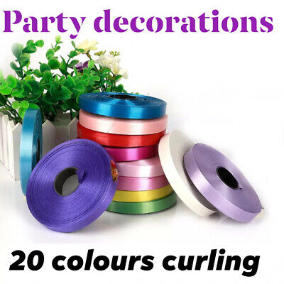 Wholesale 100 MT Curling Foil Balloons Ribbons Helium String Tie Ribbon Birthday • 1.89£