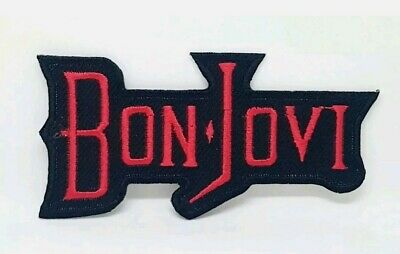 £1.79 • Buy Bon Jovi Rock Music Sew Or Iron On Embroidered Patch