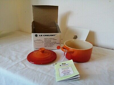 Le Creuset Mini Casserole With Lid Brand New In Box • 13.20£