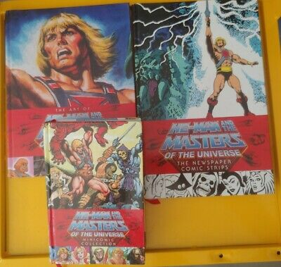 $50 • Buy He-Man And The Masters Of The Universe : 3 Book Lot: Art Of, Newspaper, Mini