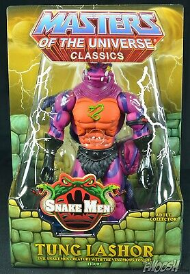 $69 • Buy TUNG LASHOR MOTUC Masters Of The Universe Classics He-Man Tongue Lasher FREE S/H