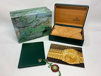 $ CDN131.16 • Buy GENUINE ROLEX Explorer II 16570 Watch Box Case 68.00.08 Booklet 0912008