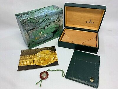 $ CDN131.16 • Buy GENUINE ROLEX Submariner 16613 Watch Box Case 68.00.01 Booklet 0912009