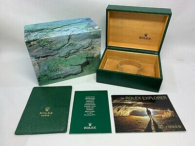 $ CDN144.34 • Buy GENUINE ROLEX Explorer Watch Box Case 64.00.01 Booklet 0912011