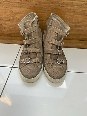 Ash Trainers High Top Size 4 (37) • 20£