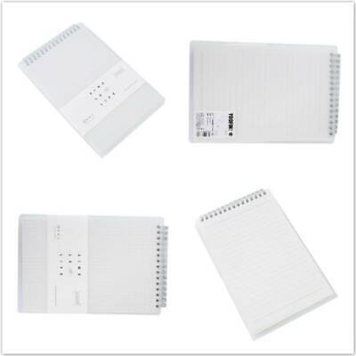 AU10.85 • Buy B5/A5 PP Coil Notebook Creative Simplicity Grid 80 Page Up Notepad Handbook BS