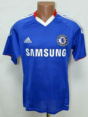 Chelsea London 2010/2011 Home Football Shirt Jersey Adidas Size S Adult • 39.99£