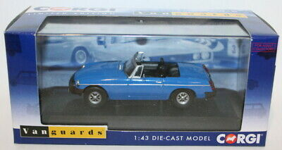 Vanguards 1/43 Scale VA13004 - MGB - Pageant Blue • 34.99£