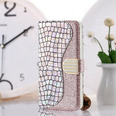 $ CDN6.56 • Buy For Samsung Galaxy S20 Plus Note 10 S10 A70 Bling Leather Wallet Flip Case Cover