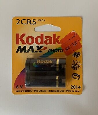 $ CDN17.14 • Buy Kodak MAX KL2CR5-1 Lithium Photo 6 V Battery - NEW - DD-6124
