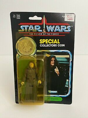 $ CDN415.23 • Buy Star Wars Kenner Vintage The Emperor Figure W/ Coin POTF Hong Kong Card MOC