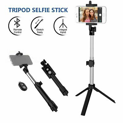 AU12.59 • Buy Unipod Selfie Stick Handheld Tripod Bluetooth Shutter For Apple IPhone Samsung