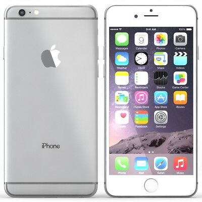 AU239 • Buy USED | Apple IPhone 6 Plus | 64GB | Silver | Unlocked | Rear Camera Faulty
