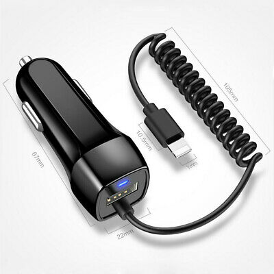 AU12.99 • Buy 2.1A IN Car Charger For IPhone 11 12 Pro Max X XS XR 6 7 8 Fast Charging