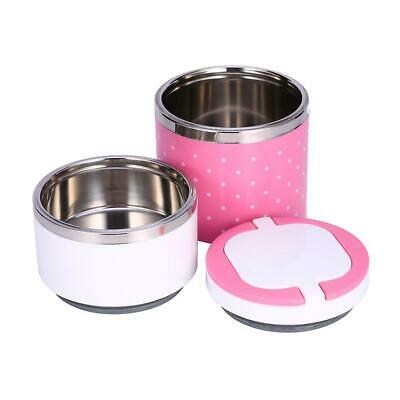 AU16.97 • Buy 1-3 Layer Stainless Steel Insulation Thermo Thermal Lunch Box Food Container