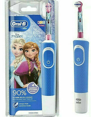 AU30.90 • Buy Oral-B Stages Kids Rechargeable Toothbrush Soft Bristles  Disney Frozen