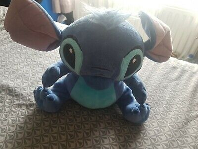 Disney Store Exclusive Rare Stamped Stitch Soft Plush Toy • 5£