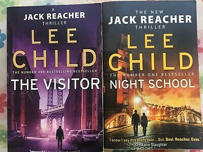 Lee Child The Visitor And Night School • 0.99£