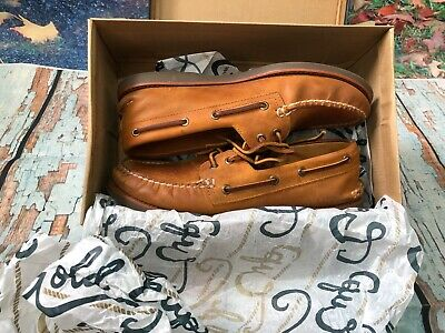 Sperry Top Sider Gold Cup Leather Moccasin Style Deck Shoes Uk Size Uk Size 8 • 45£