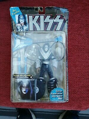 KISS - Ace Frehley Toys - Ultra Action Figures - 1997 W/Model Record • 14£