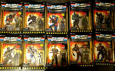 $ CDN790.91 • Buy GI JOE 2008 25th Anniversary HALL OF HEROES 3.75  Inch Action FIGURE SET LOT MOC